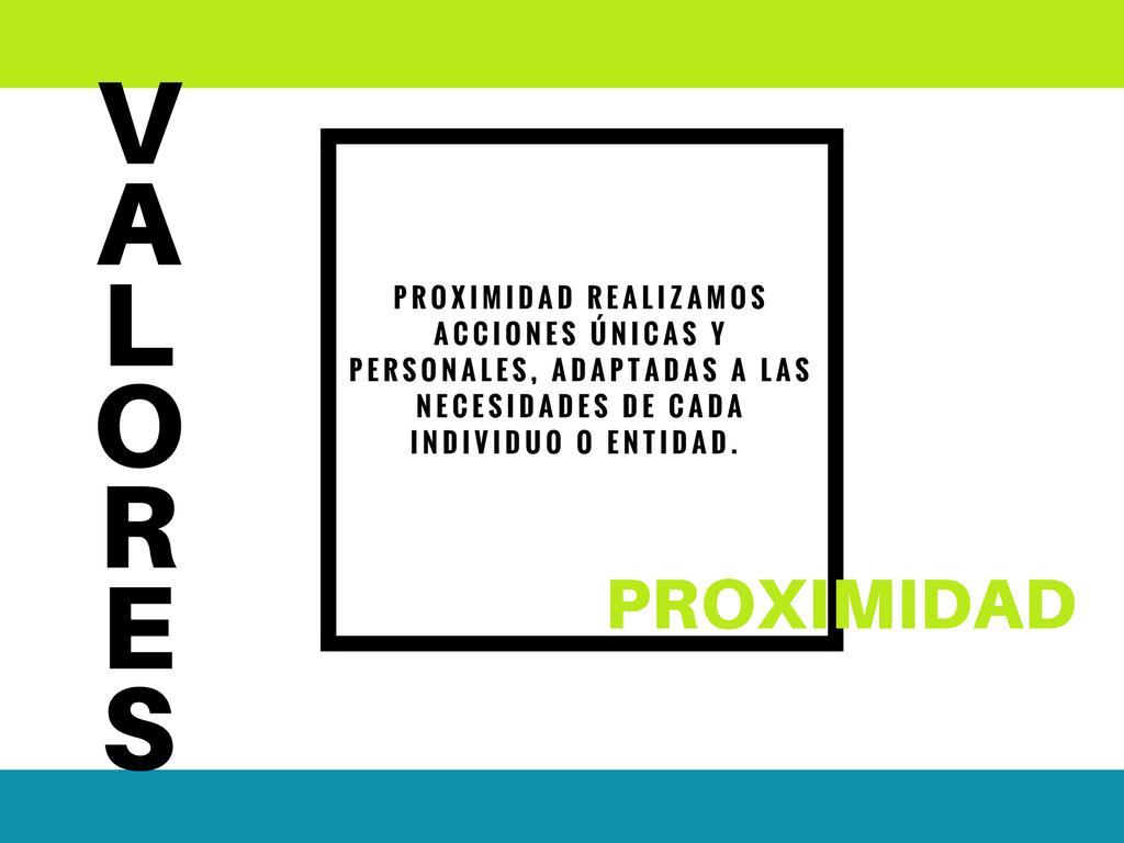 proximidad, ad hoc